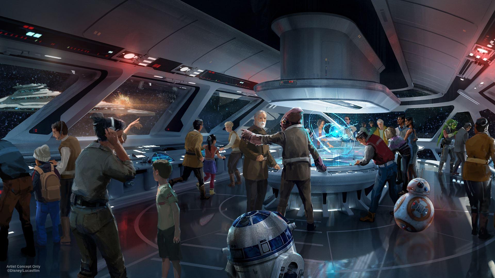 Disney's Star Wars-themed resort hotel