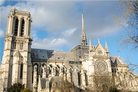 Fire Erupts at Notre Dame Cathedral in Paris