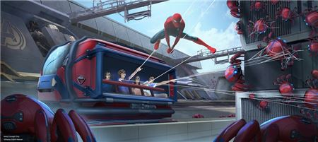 New Spider-Man Ride and Other Experiences Coming to Disneyland Resort