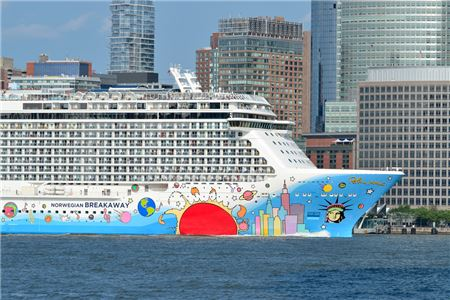 Winter Storm Grayson Delays Norwegian Cruise Line Sailing