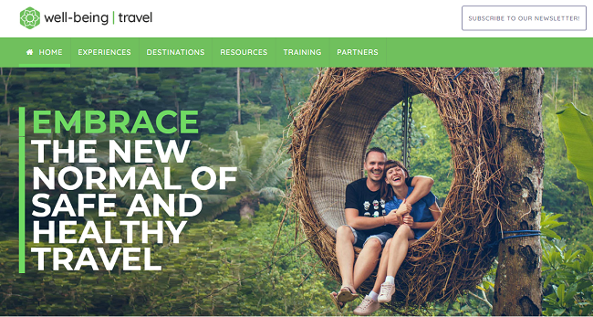 TMR Relaunches Well-Being Travel