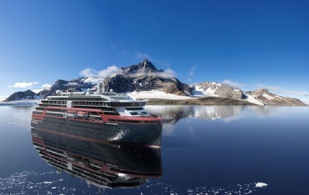 Hurtigruten expeditoin cruise line