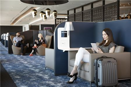 United Airlines Opens Newest Polaris Lounge at Newark Liberty International Airport