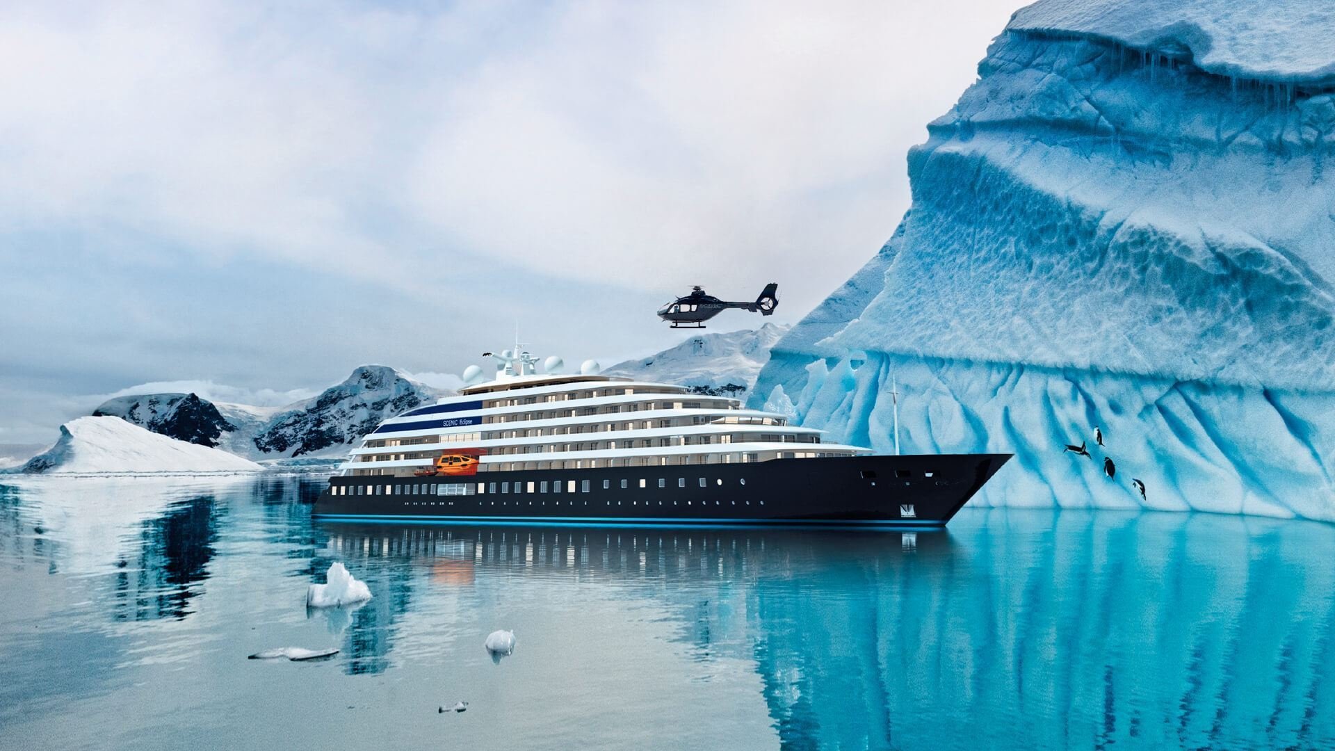 Scenic Officially Takes Delivery of Eclipse