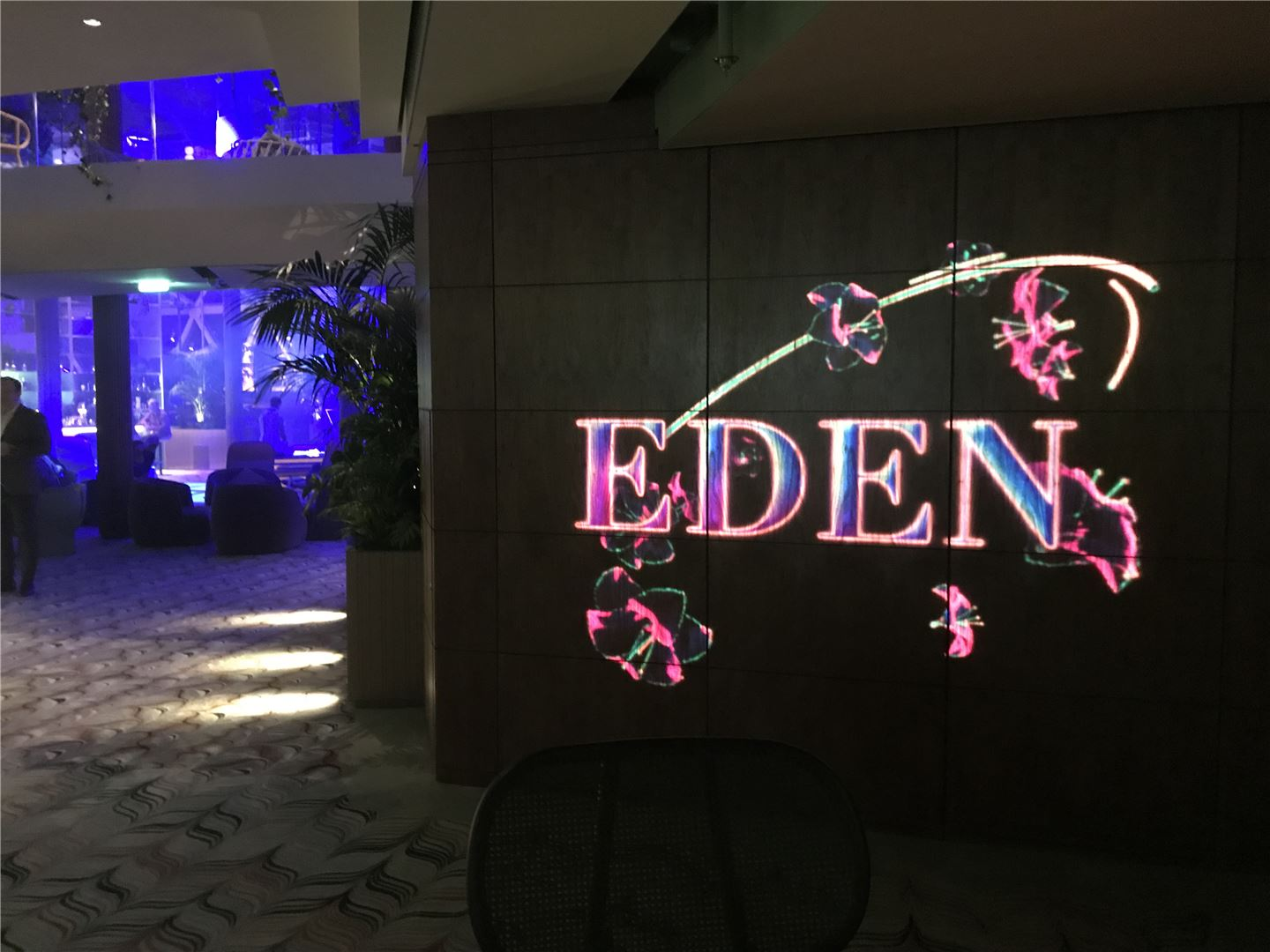 Celebrity Edge Debut Eden Nightclub.