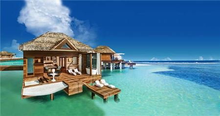 Sandals South Coast Overwater Bungalows Available For Booking