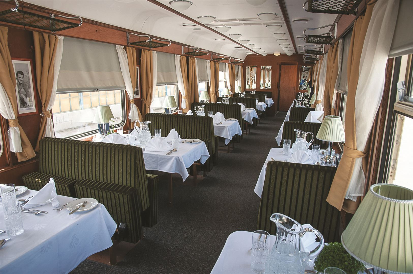 Tauck Danube Express Restaurant Car