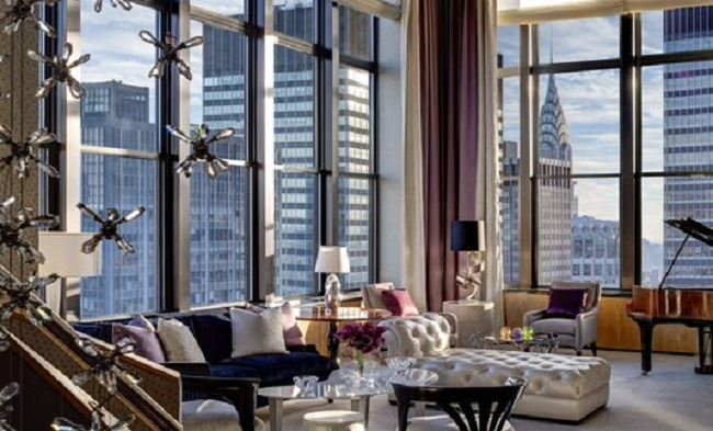 Jewel Suite new York palace hotel best hotel suites