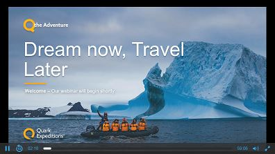 Dream Now, Travel Later: Exploring the Polar Regions with Quark Expeditions