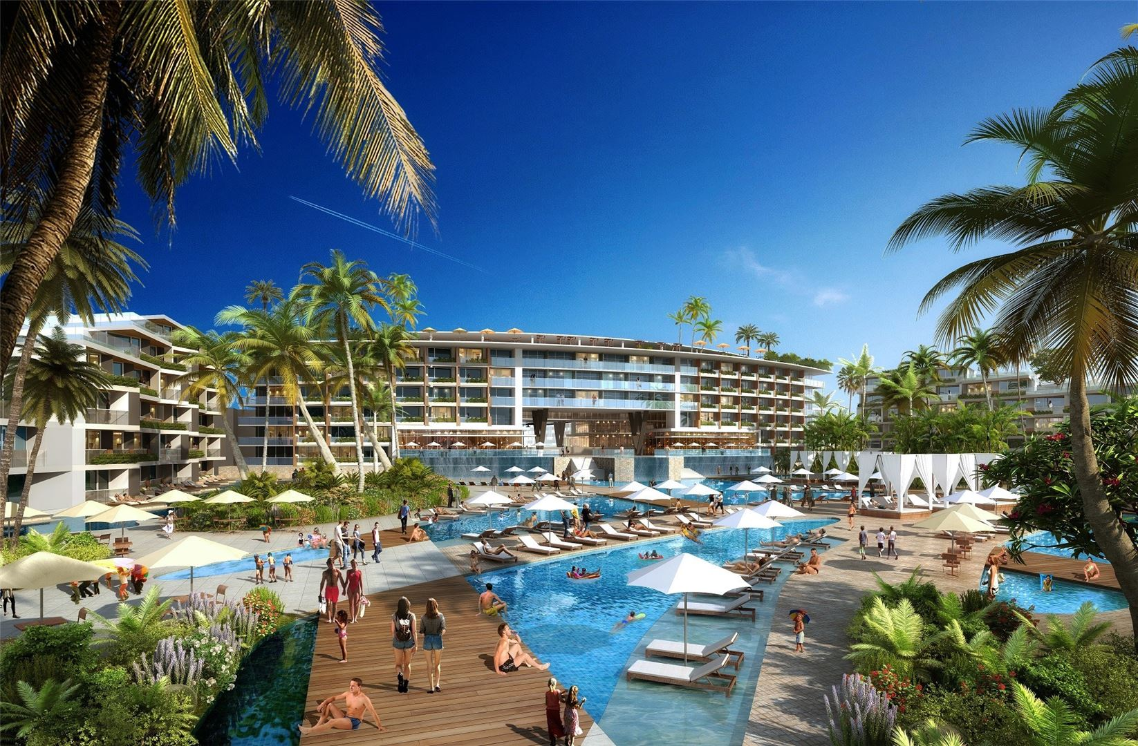 Αποτέλεσμα εικόνας για Caesars Entertainment announces development of Caesars Palace Luxury Resort in Mexico