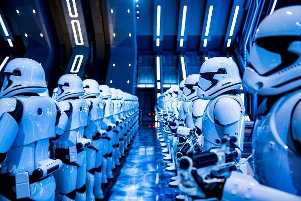 Star Wars Disney World Rise of the Resistence