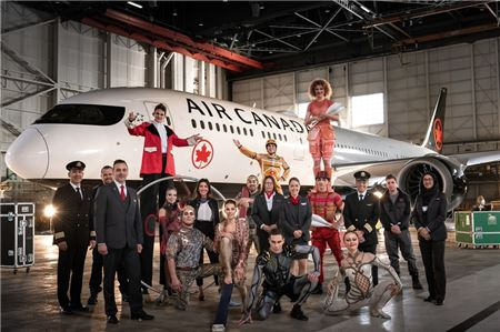 Air Canada to Partner with Cirque du Soleil