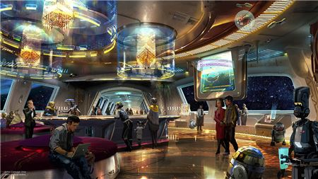 Disney Reveals Star Wars-Themed Resort Hotel