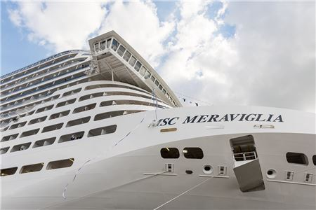 First Look: MSC Meraviglia, Cruising's New Giant