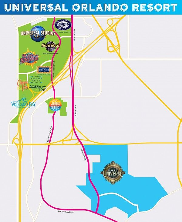 Universal Orlando Theme Park New Epic Universe