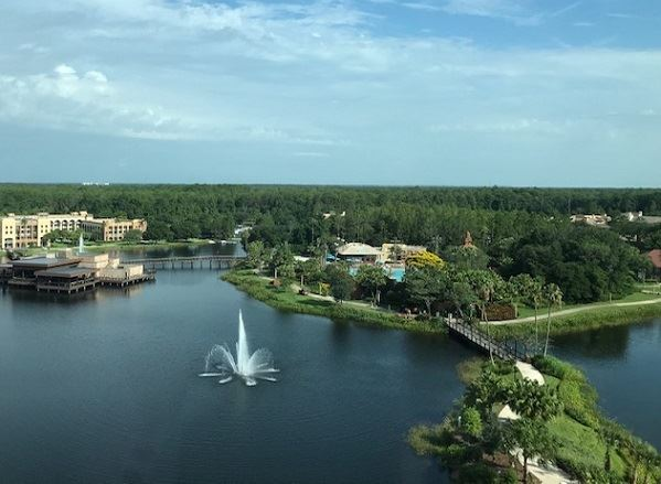 Walt disney world gran destino tower