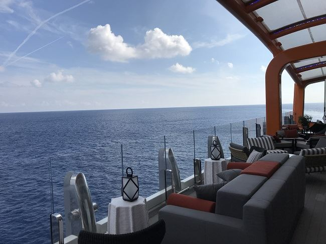 Celebrity Cruises Edge Magic Carpet Celebrity Edge Debut