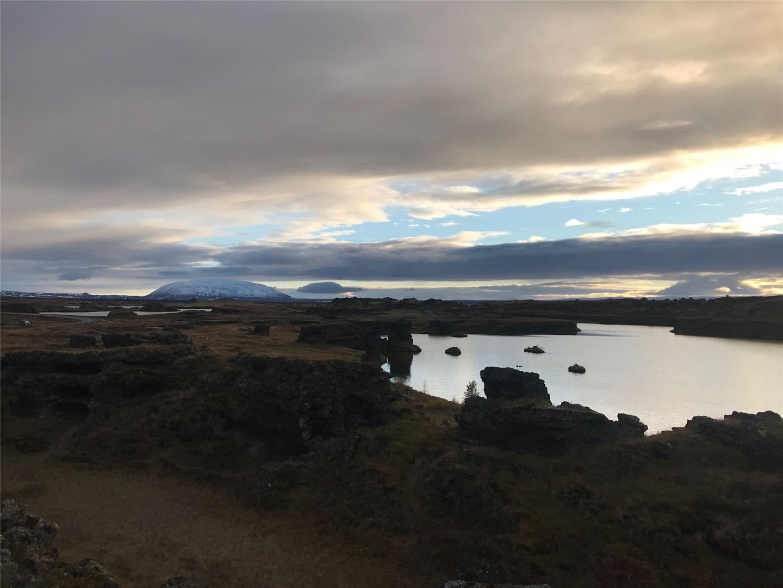 Iceland Lake Myvatn