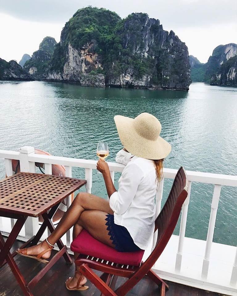 Briann Glenn in Vietnam