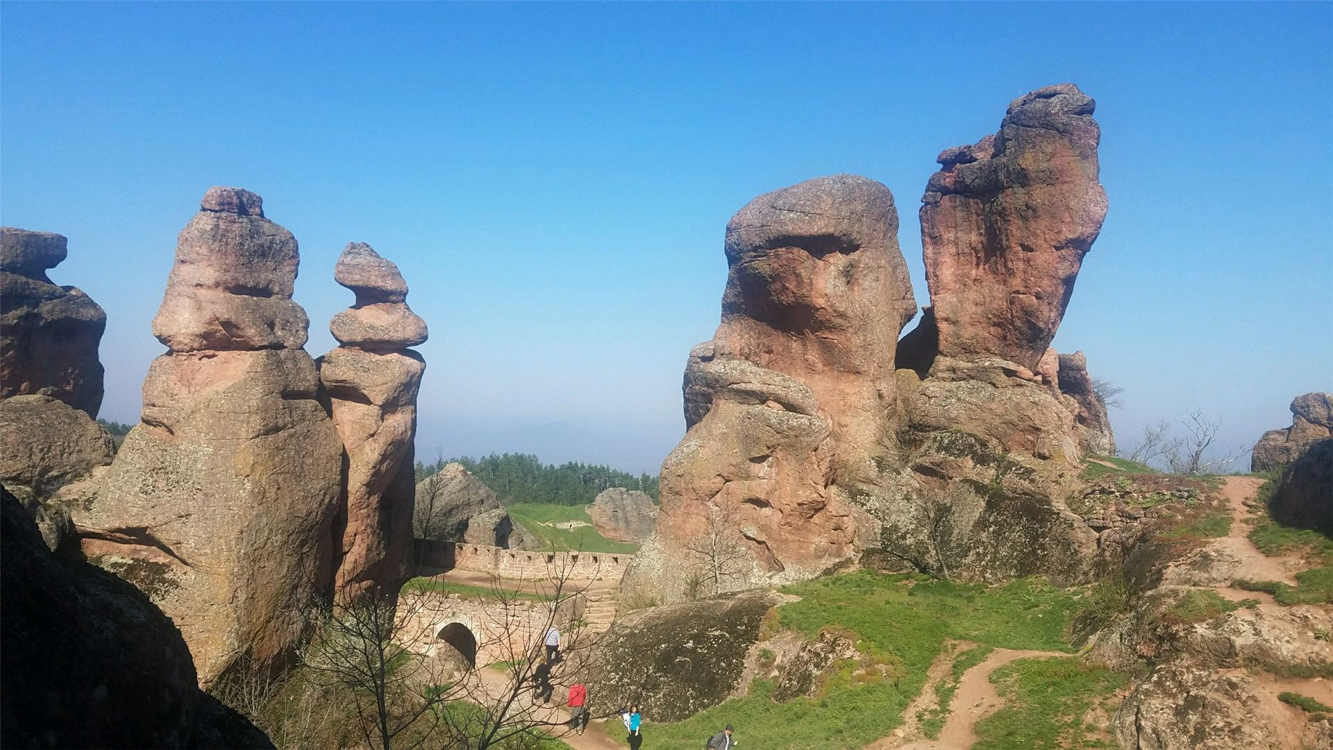 Bulgaria's Red Rock Country is another scenic excursion offered by Uniworld on the this itinerary