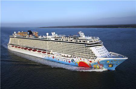 Norwegian Cruise Line's Breakaway Lands in New Orleans