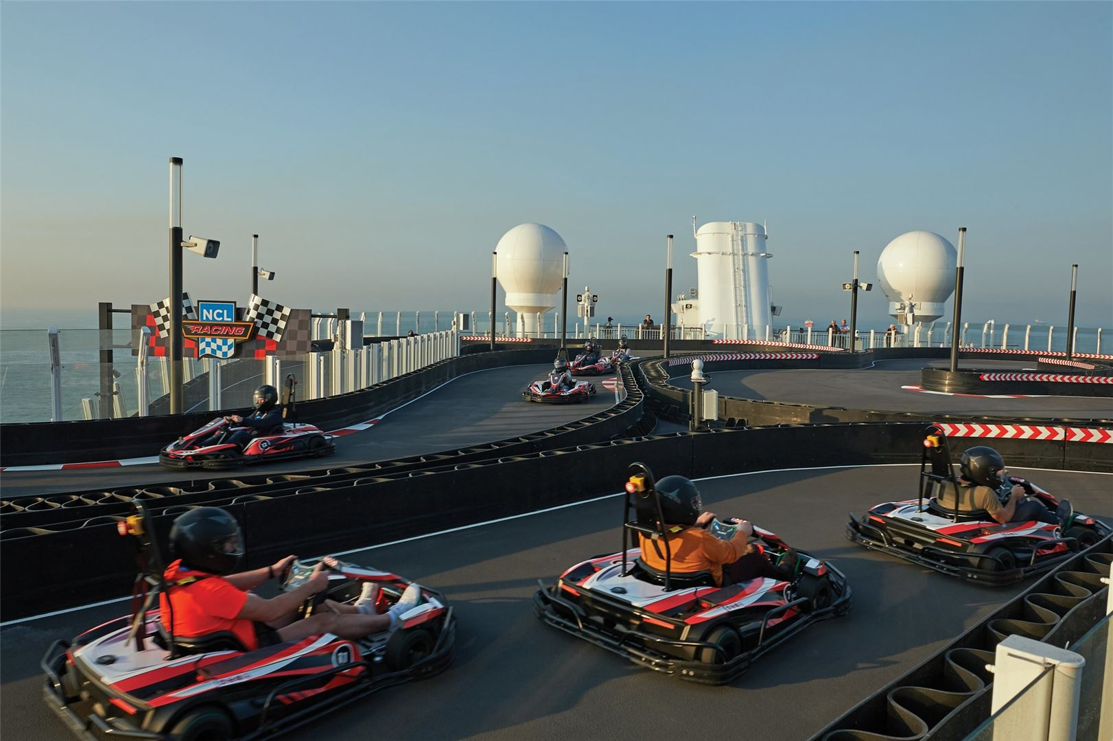 NCL Bliss Race Track.