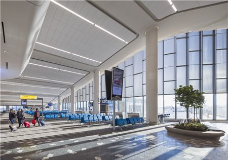 LaGuardia Airport Opens First Wing in Redeveloped Terminal