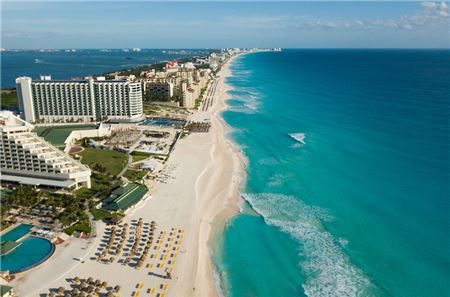 Despite Safety and Security Concerns, Cancun Remains No. 1 Summer Hot Spot