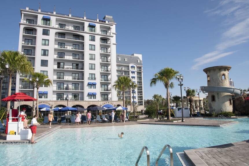 Riviera Pool Resort Disney