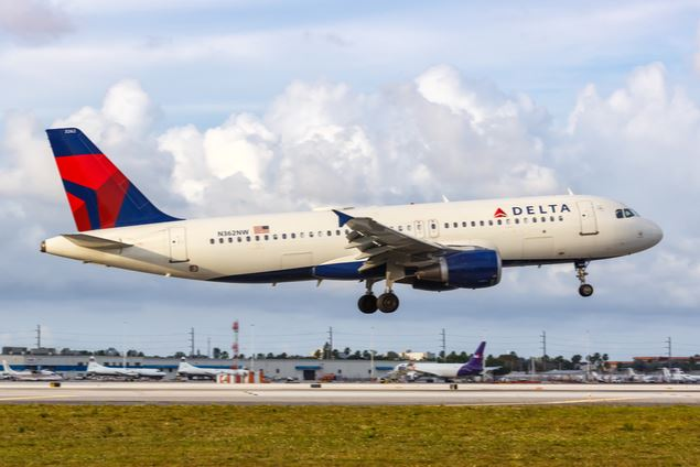 Delta Air Line  Middle Seat Face Mask Policy