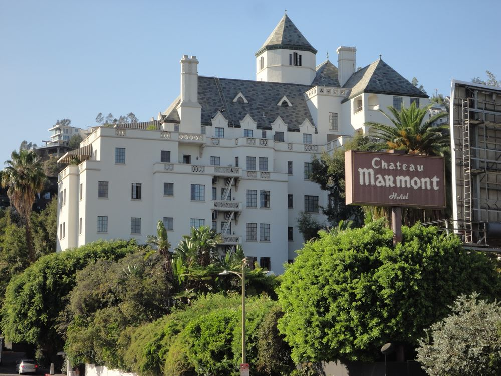 Chateau Marmont Scary Spooky Haunted Hotels Halloween.