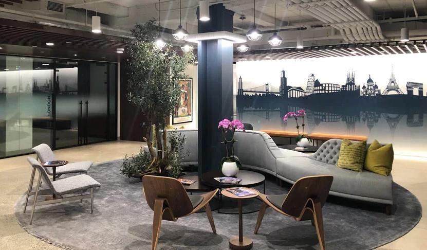 Ovation Travel new office