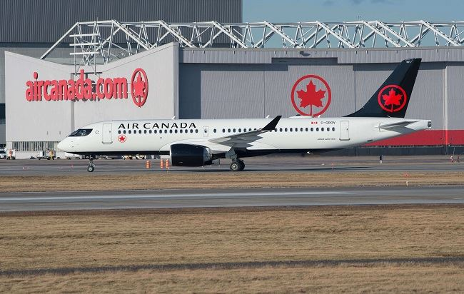 With New COVID-19 Study, Air Canada Pushes for Reopening Borders