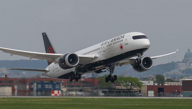 Air Canada bag fees.