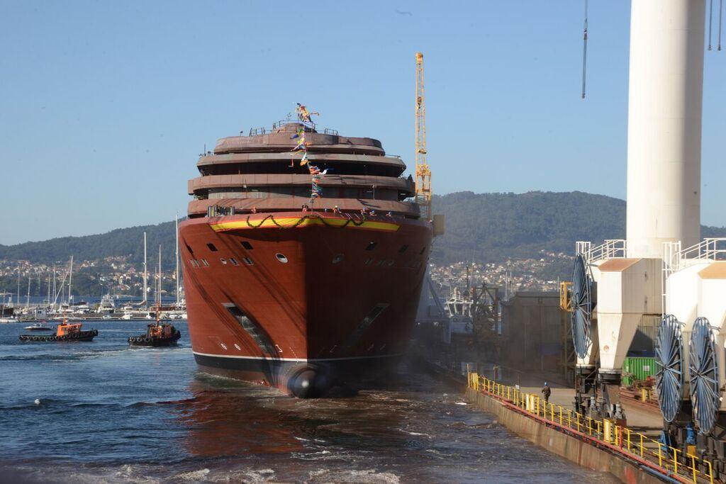 Ritz Carlton Yacht Collection First Ship