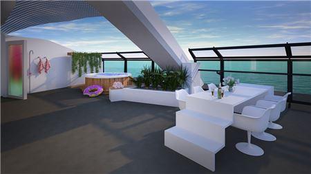 First Look: RockStar Suites from Virgin Voyages' Scarlet Lady