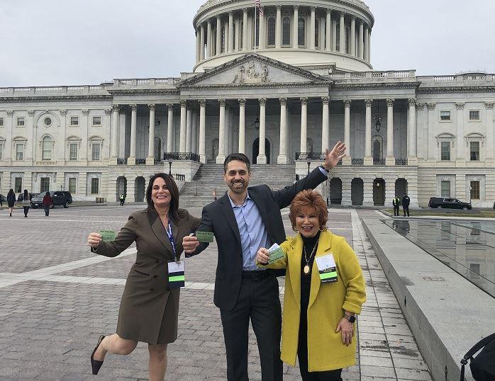 Travel advisors Real ID Capitol Hill ASTA Leg Day