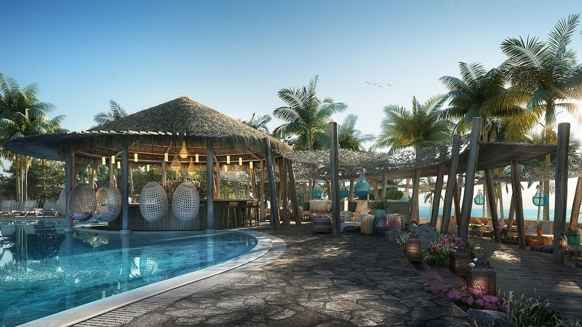 First Look at Virgin Voyages' Bimini Beach Club