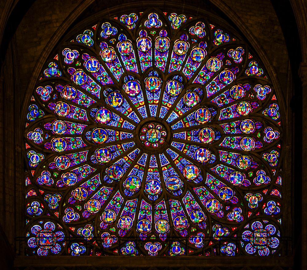 Notre Dame fire rose windows safe