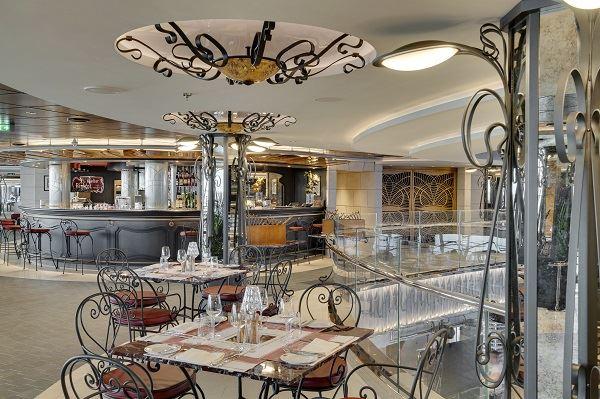 MSC Seaview luxury food dining restaurant