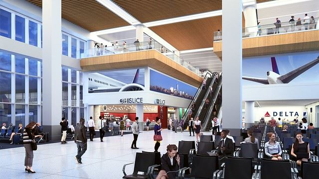 New LaGuardia Airport Terminal Delta Air Lines