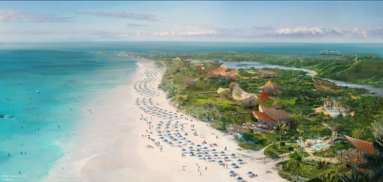 Disney Cruise Line Private Island Bahamas