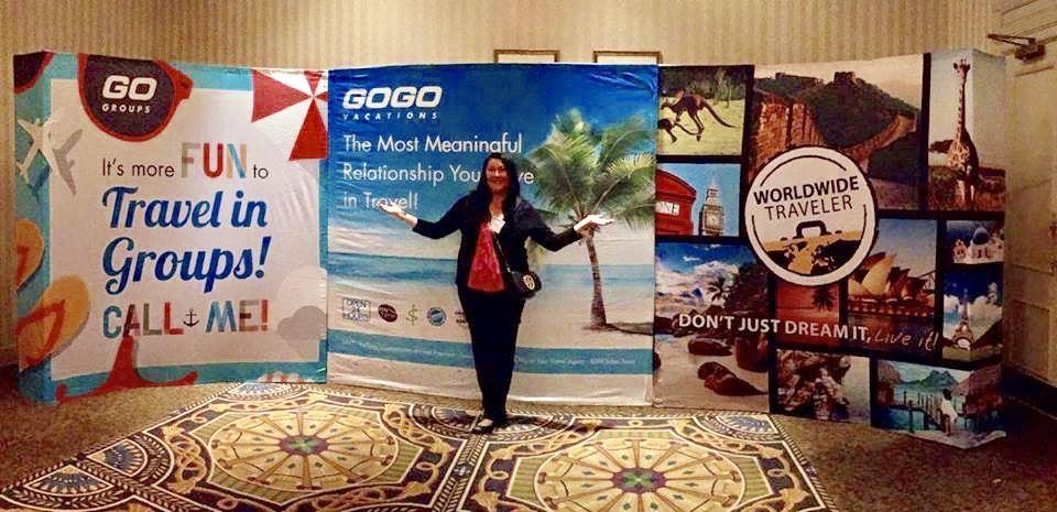 Alicia Kingston travel agent