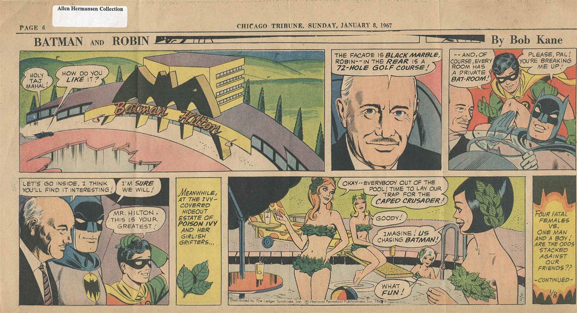 Conrad Hilton Batman Hilton 100 Years