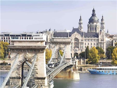 Four Seasons Hotel Gresham Palace Budapest, Ideal for Pre- or Post-River Cruising