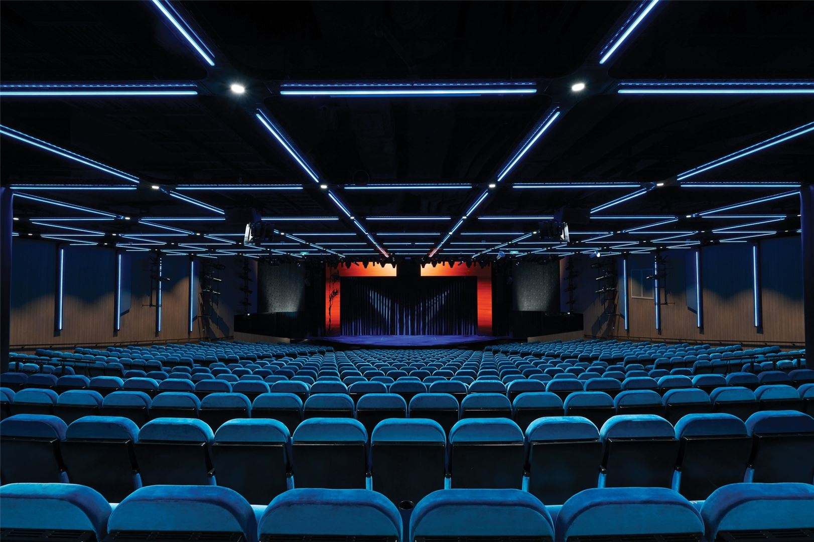 NCL Bliss main theatre.