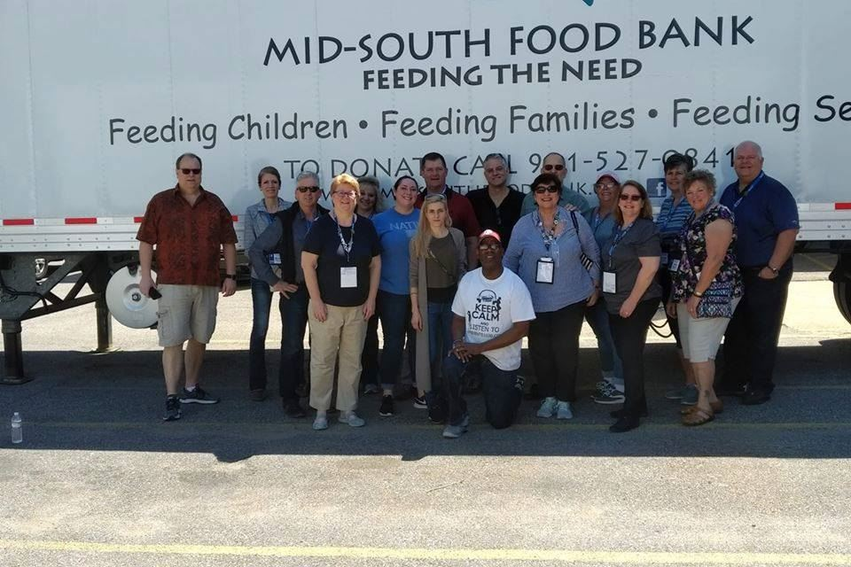 27th Annual MAST Conference attendees volunteer at Mid-South Food Bank in Memphis, TN