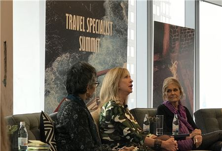 Barry Sternlicht and Gloria Steinem Talk Luxury and Sustainability