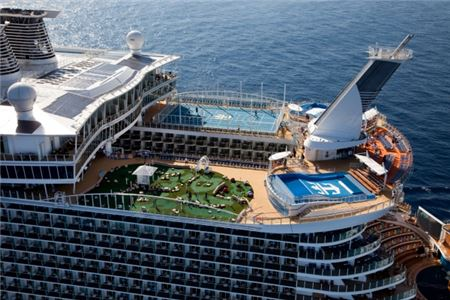 Oasis of the Seas to Set Sail from the Big Apple in 2020