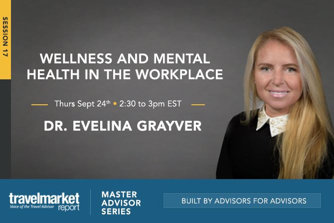 MasterAdvisor: Dr. Grayver, Wellness and Mental Health in the Workplace September 24th 1-2pm EST